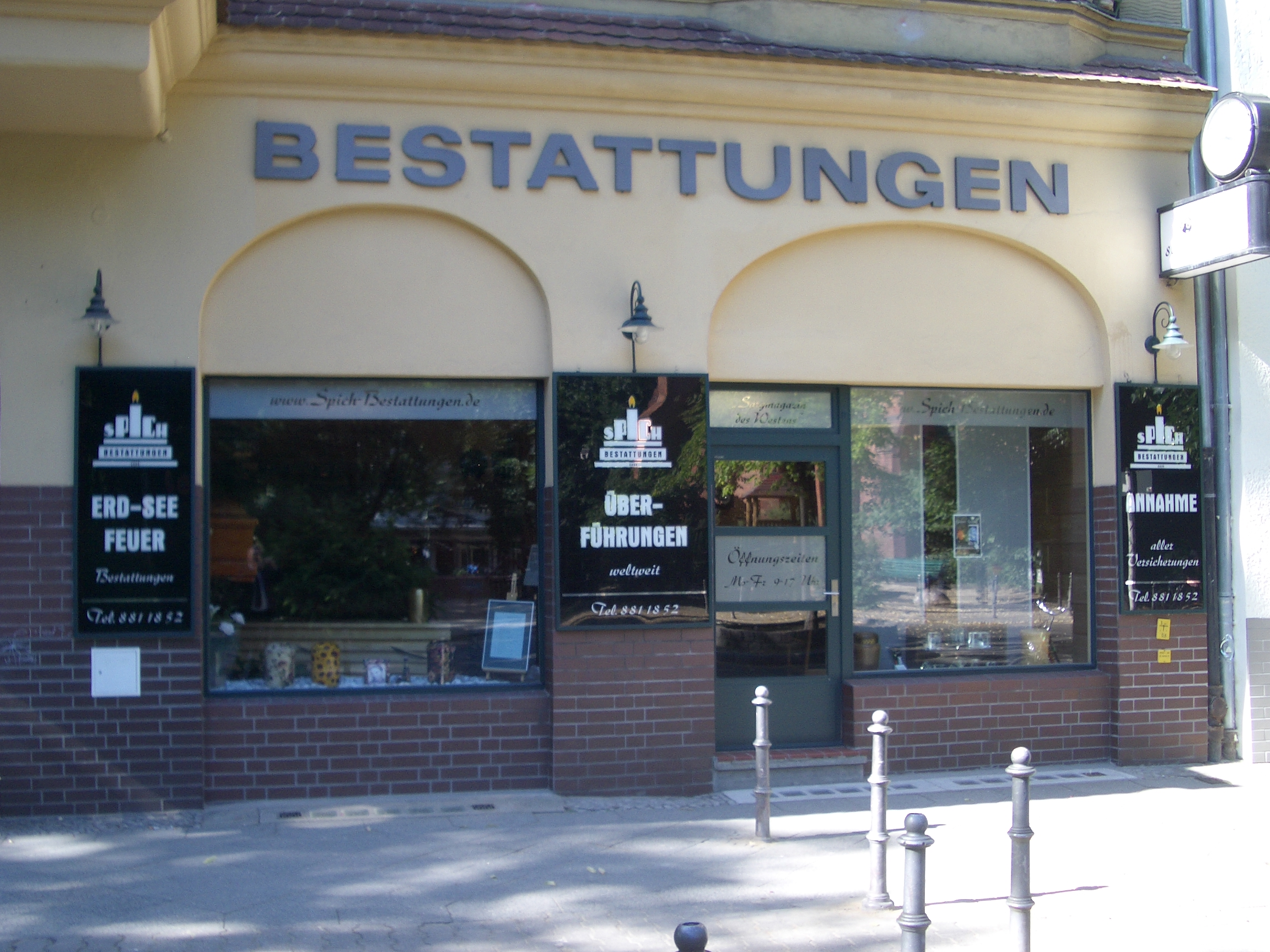 Bestattungen in Wilmersdorf